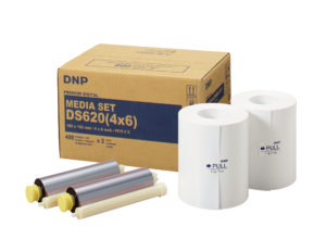 DNP Verbrauchsmaterial Mediakit 4x6 inch / 10x15 cm