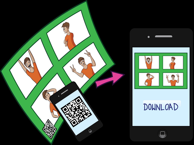 Photobooth Option 7 SocialMedia dynamischer QR Code